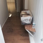 Weston hallway-flood-damage-repair